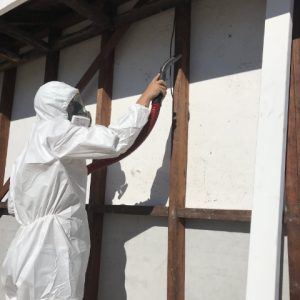DEMCO: safe removal of asbestos fibres from timber framed residential building in Albany WA