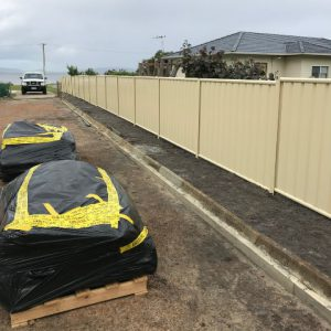 DEMCO: residential colourbond fence