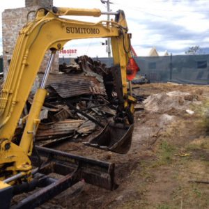 DEMCO: cleanup of residential demolition site