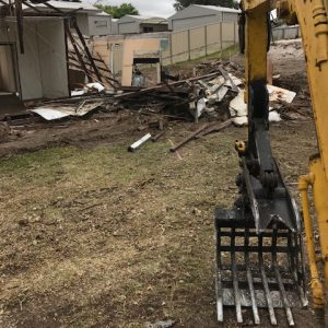 DEMCO: demolition of timber framed building